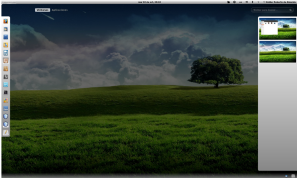 Gnome Light screenshot 1