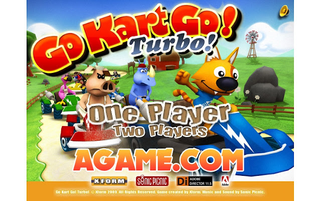 Go Kart Go! Turbo! Download Linux - Softpedia Linux Funnygames 1