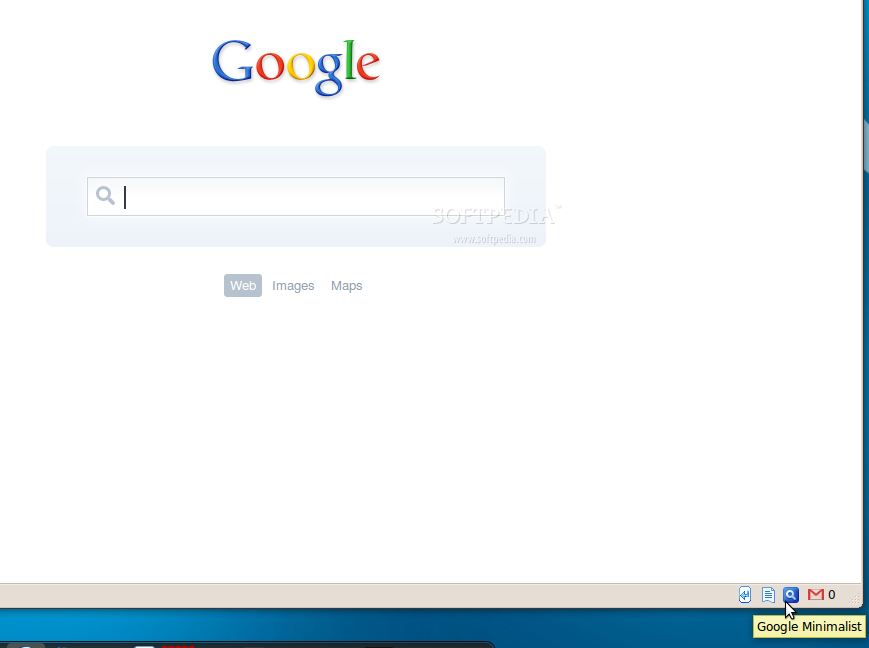 Google Minimalist screenshot 1