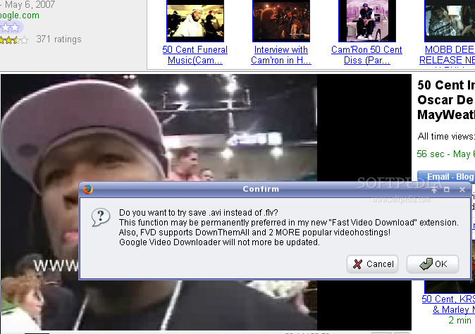 Google Video Downloader screenshot 1