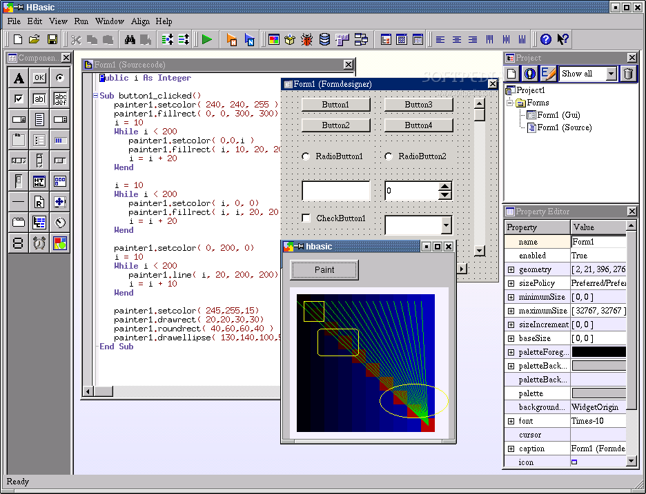 HBasic screenshot 1