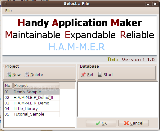 Handy Application Maker screenshot 1