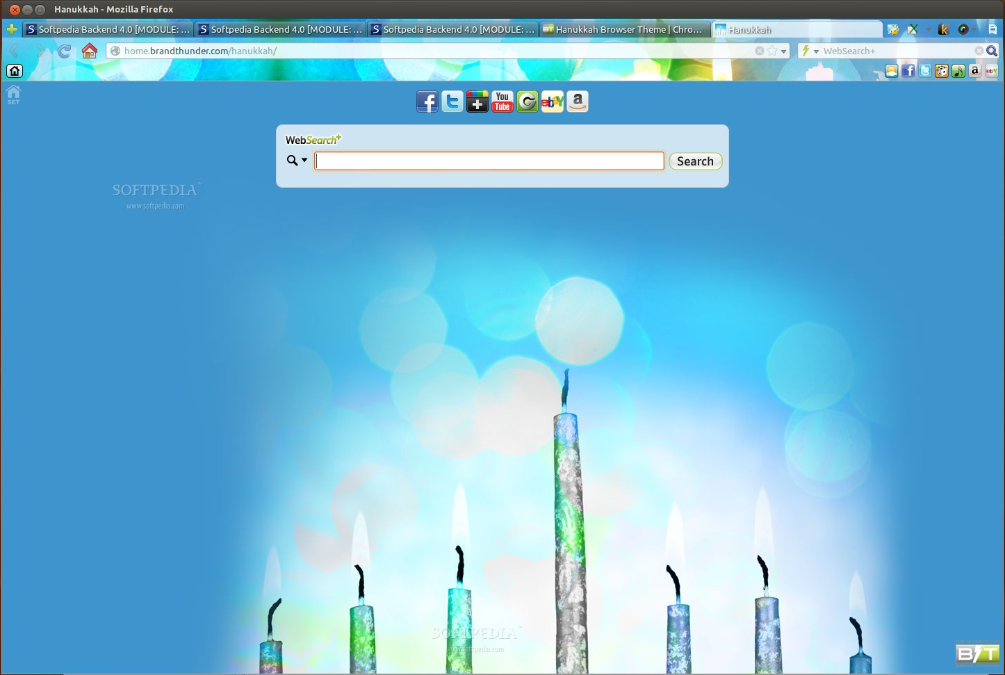 Hanukkah for Firefox screenshot 2