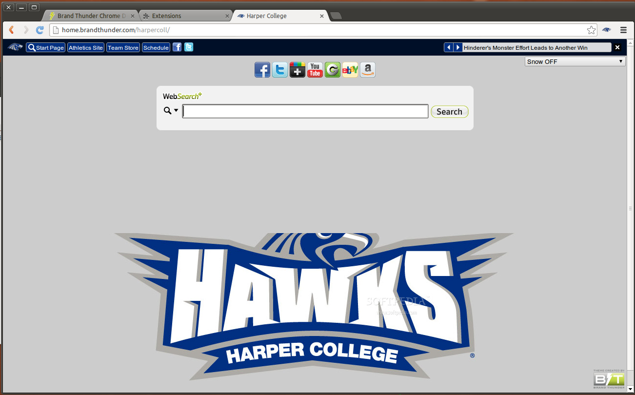 Harper College for Google Chrome screenshot 1