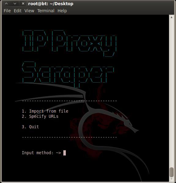 Download IP Proxy Scraper Linux 1 0