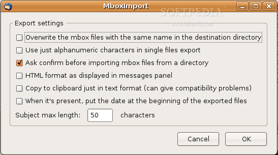 ImportExportTools screenshot 2