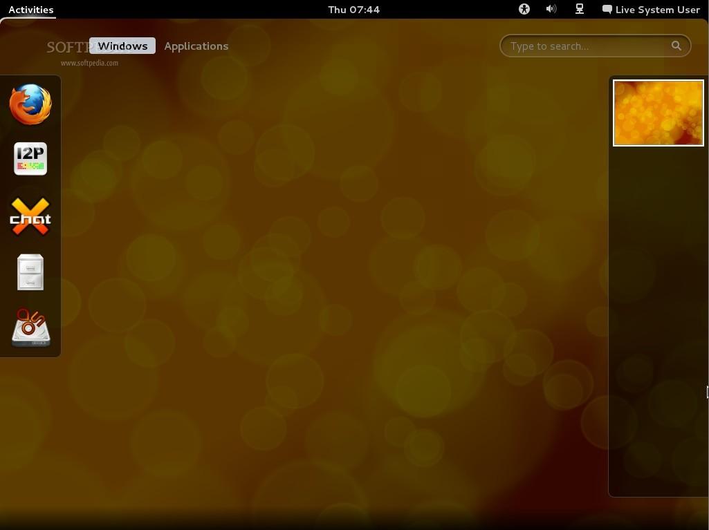 Download IprediaOS Live Desktop 1