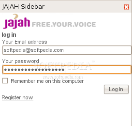 JAJAH Click-to-call screenshot 1