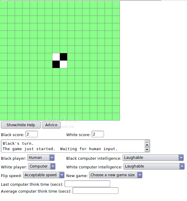 JSothello screenshot 1