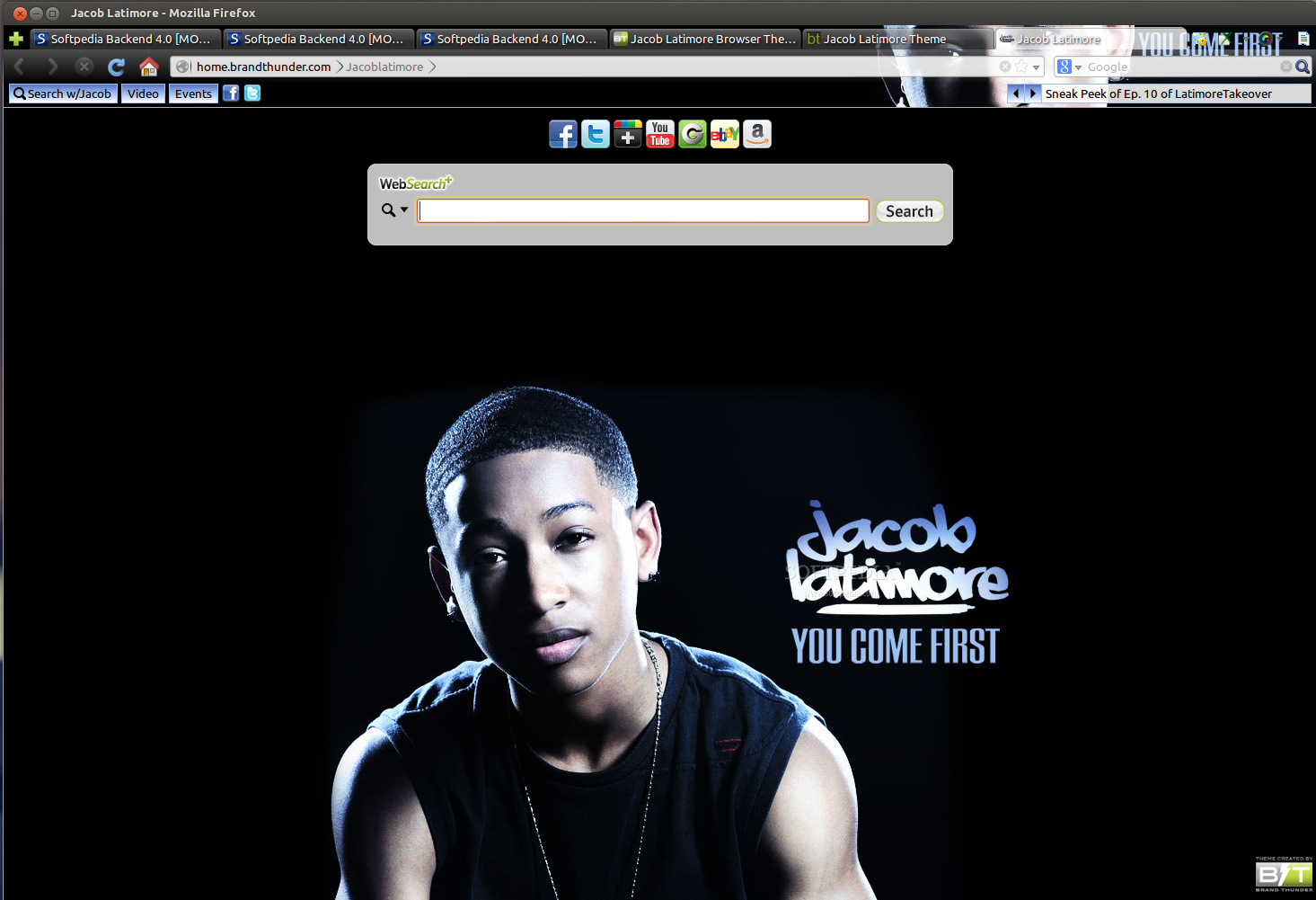 Jacob Latimore for Firefox screenshot 1