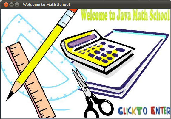 Java Math School screenshot 1