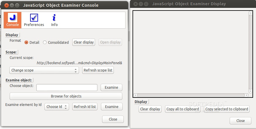 JavaScript Object Examiner for Firefox screenshot 1