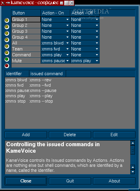 KameVoice screenshot 1