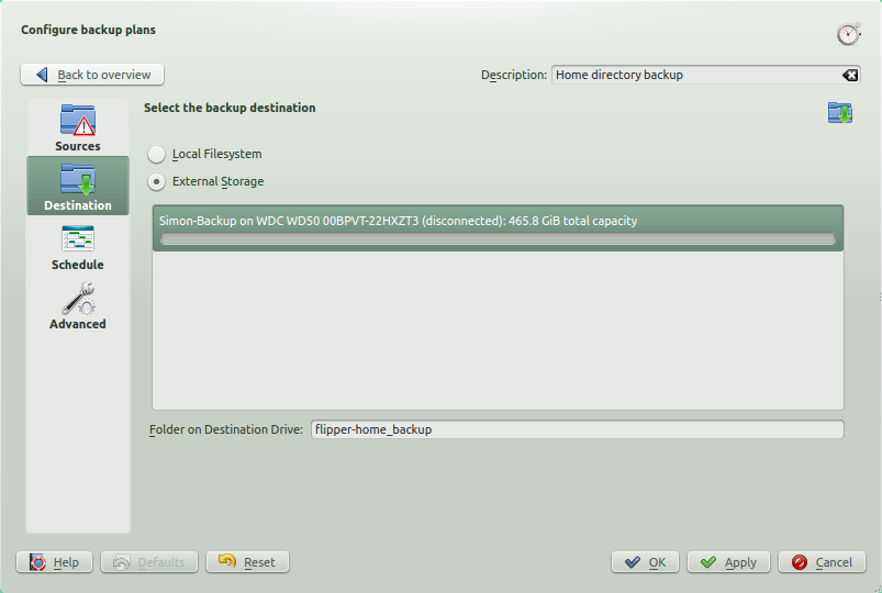Kup Backup System screenshot 3