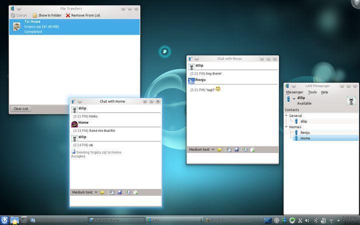 Download LAN Messenger Linux 1 2 37