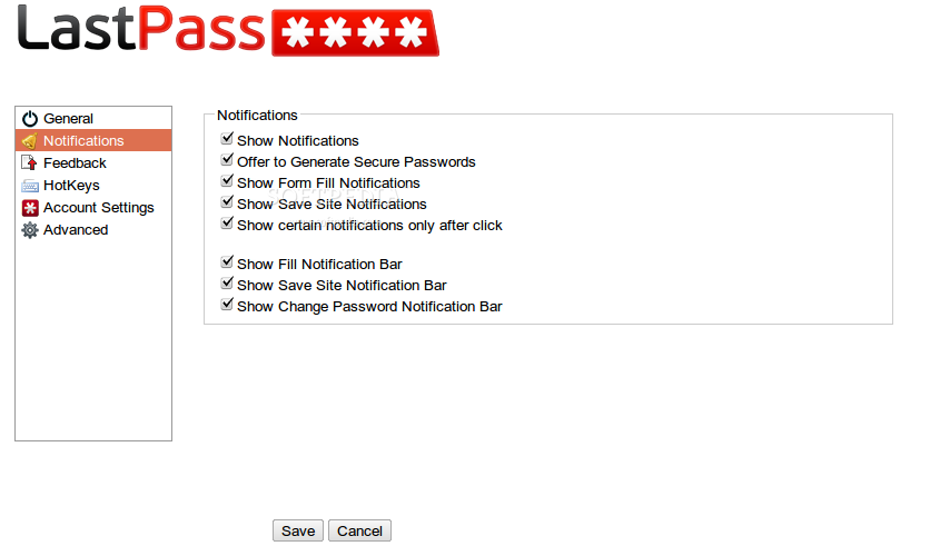 LastPass screenshot 4