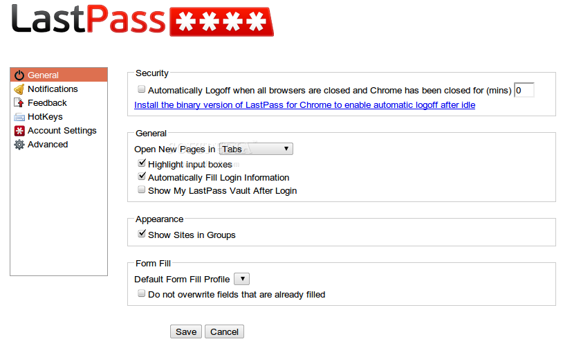 LastPass screenshot 5