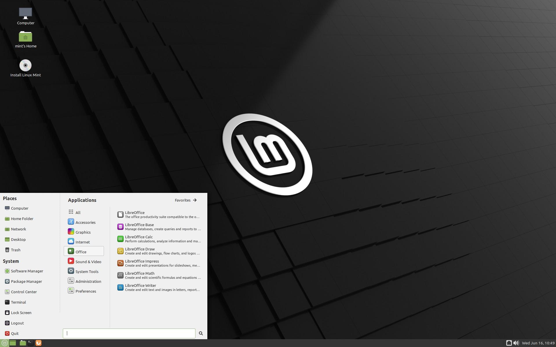 download linux mint 19 rh linux softpedia com Linux Mint Backgrounds Linux Mint Logo