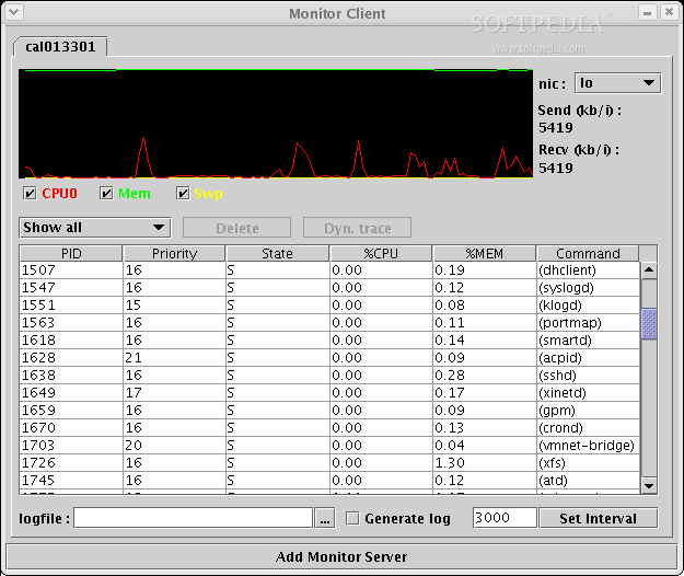 Load Monitor screenshot 1