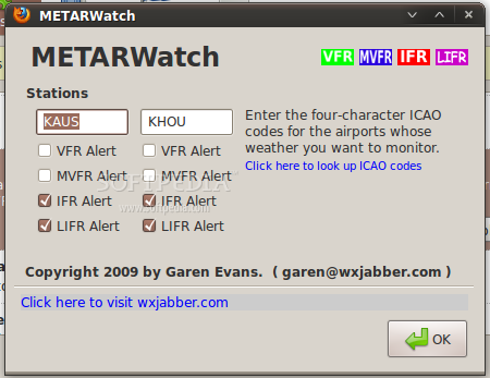 METARWatch screenshot 2