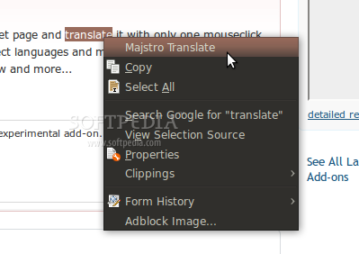 Majstro Translate screenshot 1