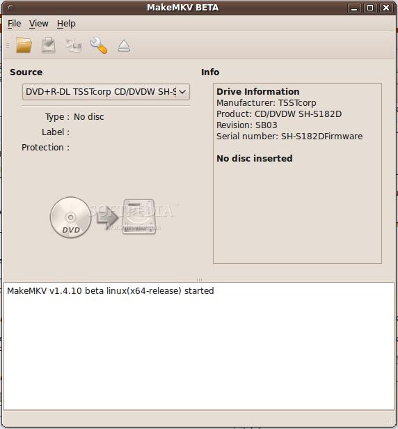 Download MakeMKV Linux 1 4 10 Beta