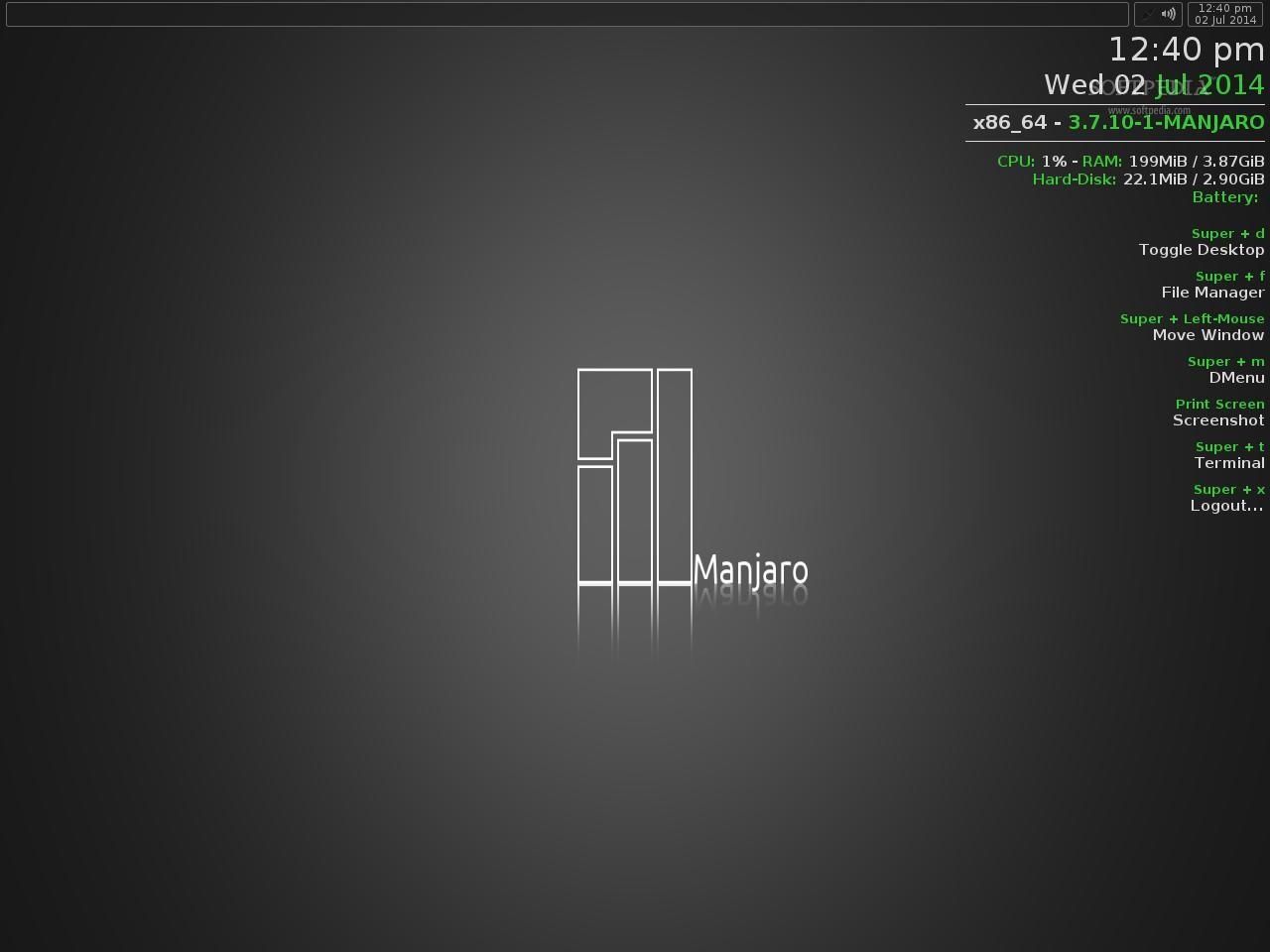 Download Manjaro Linux Openbox Lite 0 8 4
