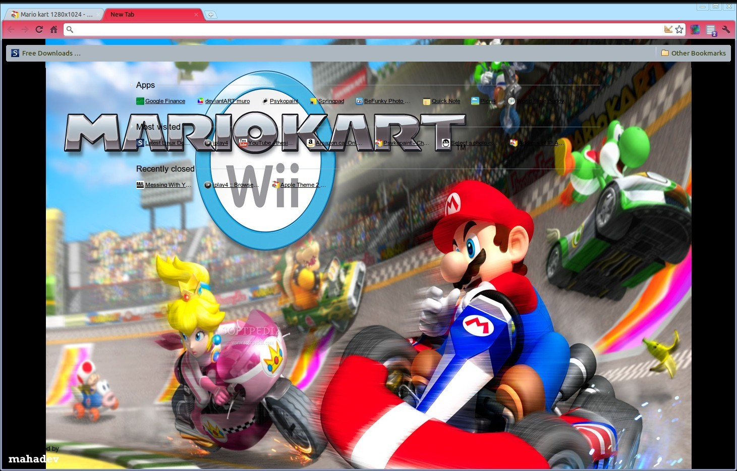 Mario kart 1280x1024 screenshot 1