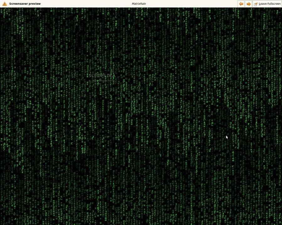 Download Matrix Rain Linux 0020081228