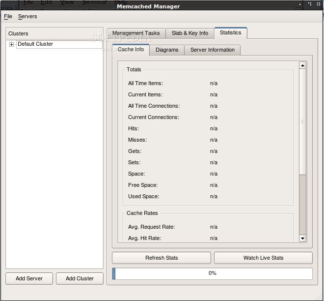 Memcached Manager screenshot 2