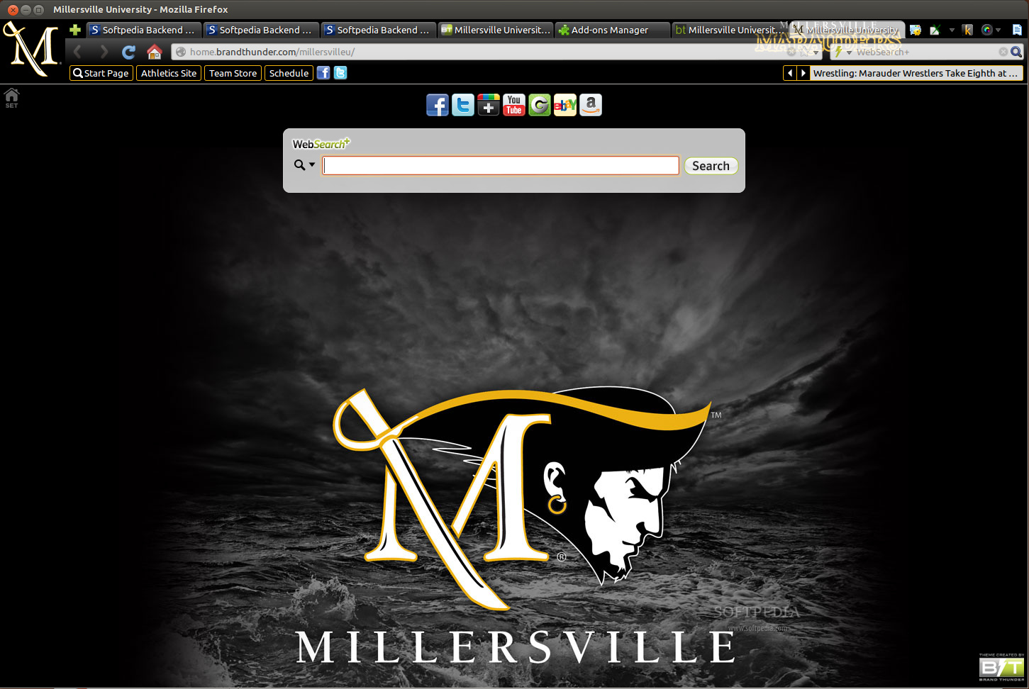 Millersville University for Firefox screenshot 1