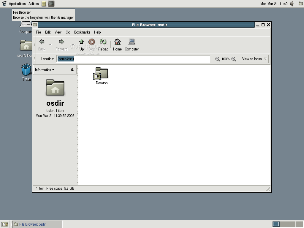 Momonga Linux screenshot 2