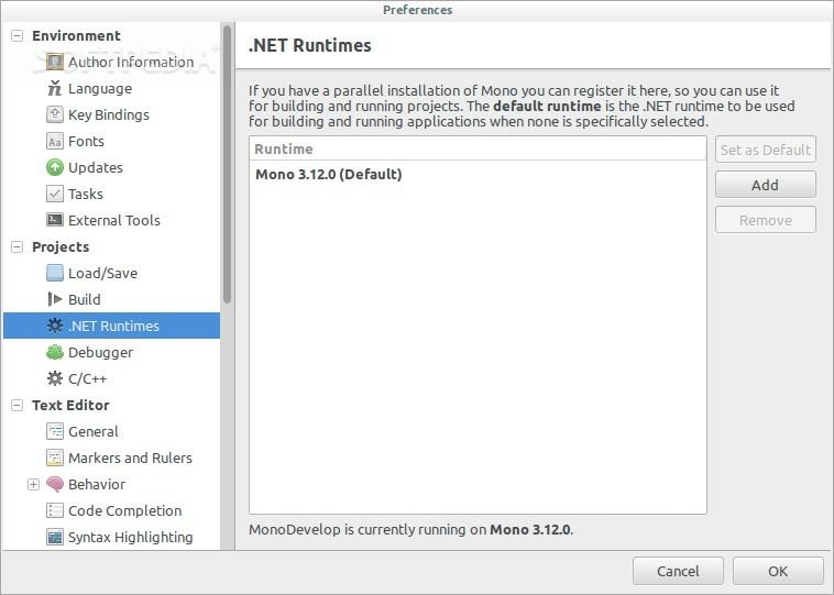 Download MonoDevelop Linux 7 4 0 985