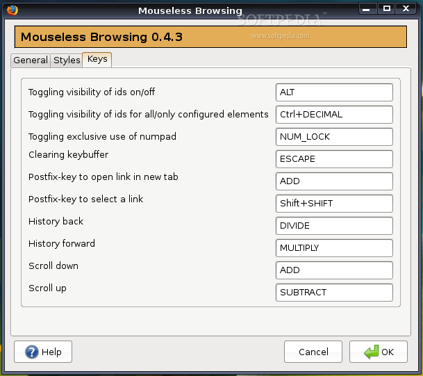 Mouseless Browsing screenshot 3
