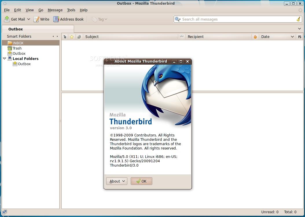 thunderbird 2.0 0.24