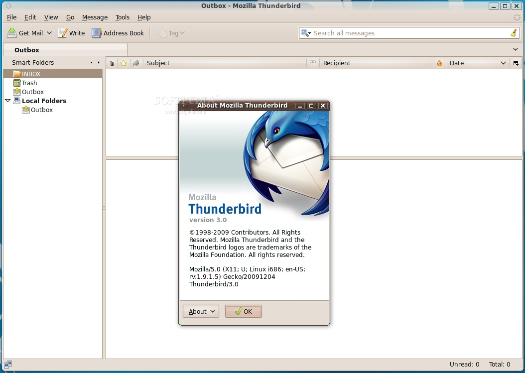 mozilla thunderbird 2.0 0.24