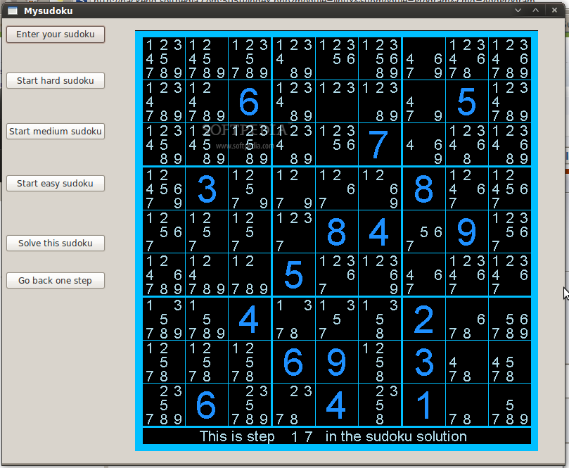 MySudoku screenshot 2