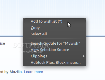 Mywish screenshot 1