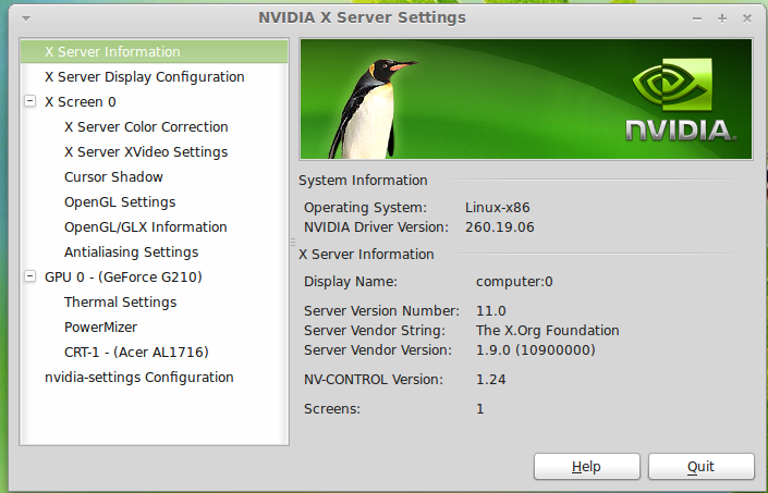 Download Nvidia OpenGL Display Driver for FreeBSD Linux