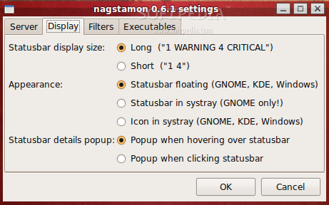 Nagstamon screenshot 3