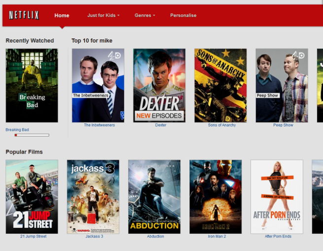 Netflix Plus screenshot 2