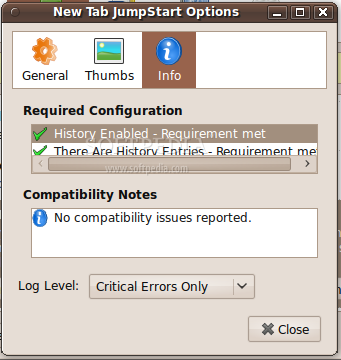 New Tab JumpStart screenshot 4