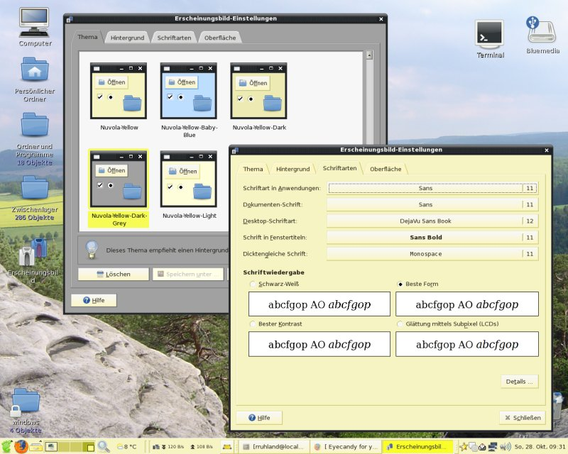 Nuvola-Yellow screenshot 1