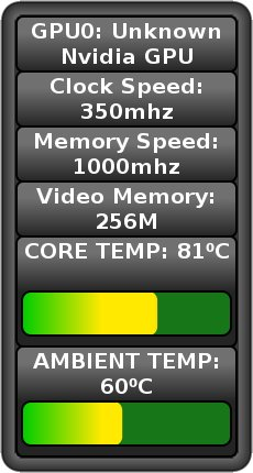 NvThermometer Screenlet screenshot 1