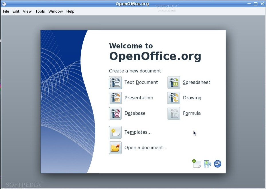 gratuitement open office 4.1.3