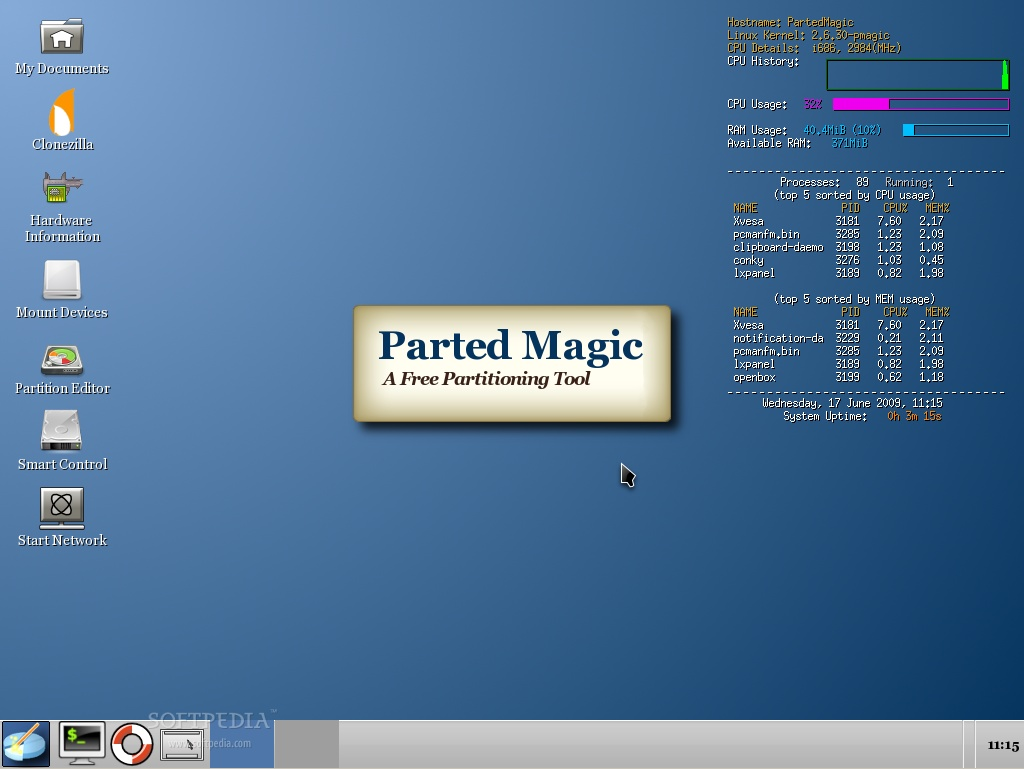 Parted Magic Download Softpedia Linux