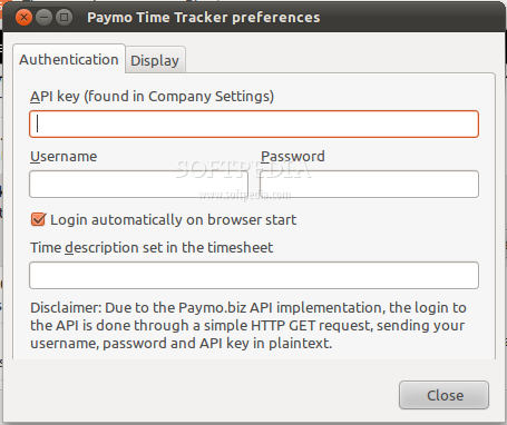 Paymo Time Tracker screenshot 3