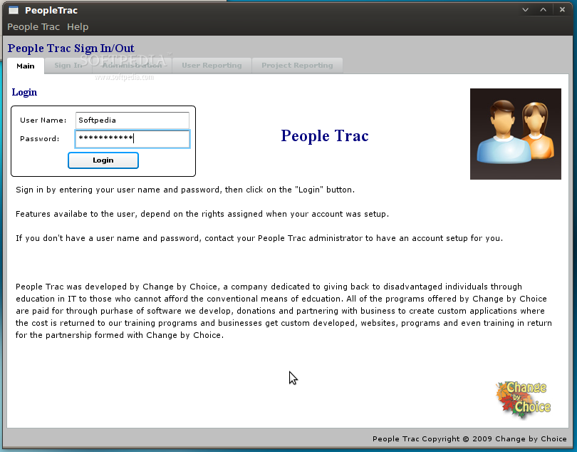 PeopleTrac screenshot 1
