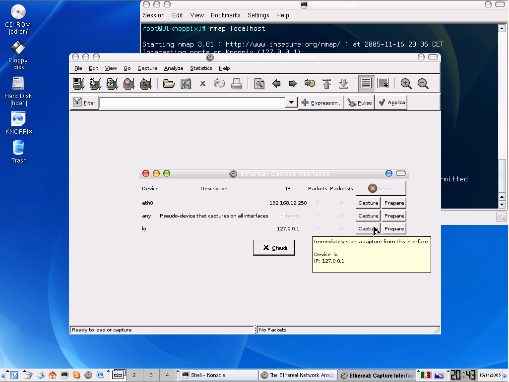 PerSeO Linux screenshot 1