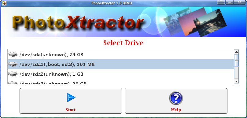 PhotoXtractor screenshot 2